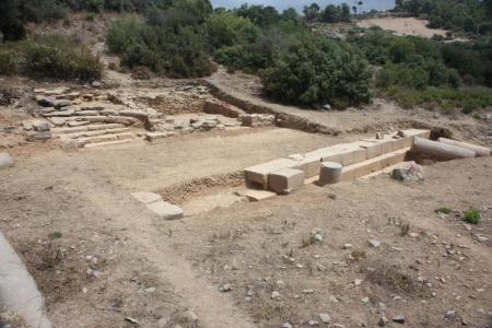Colonnaded Street at Antiochia ad Cragum.
